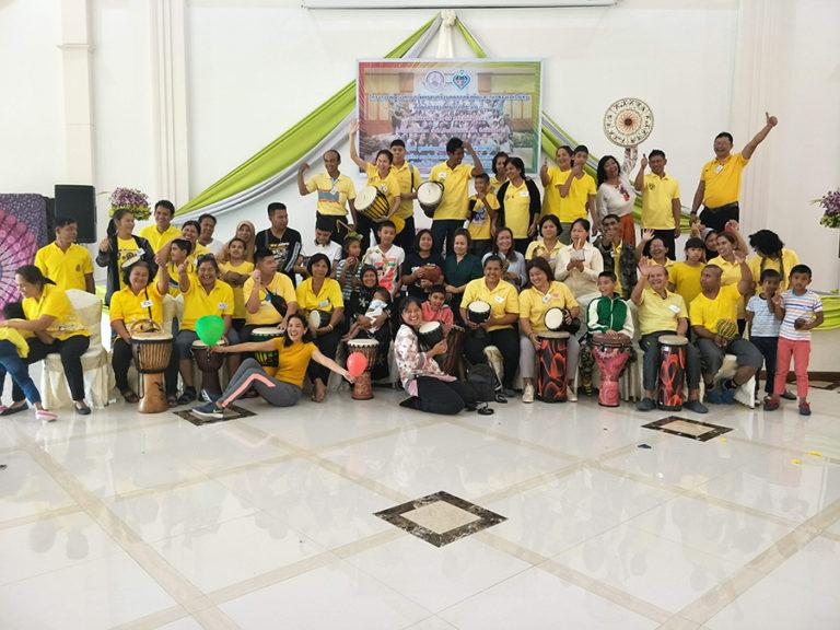 ภาพกิจกรรมเด็กพิเศษ (6) SE Soucial Enterprise กิจการเพื่อสังคม เด็กพิเศษ ออทิสติกพังงา GYM SET AVAUTIS